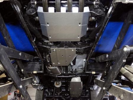 Volkswagen Amarok 2016-Комплект защит (алюминий) 4 мм